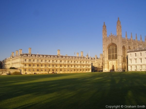 Clare college and Kings College Chapel